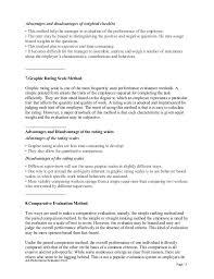 Resume writer performance appraisal Job Performance Evaluation Form Page