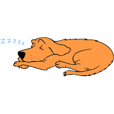 Image result for sleeping dogs clipart