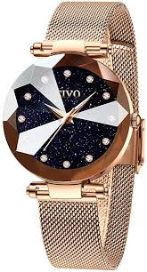 CIVO Women <b>Watches</b> Ladies Stainless Steel Mesh Strap ...