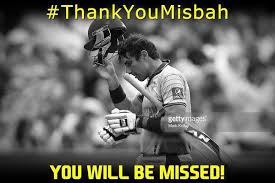 Story in memes - Misbah's departure from ODI cricket | Cricket ... via Relatably.com