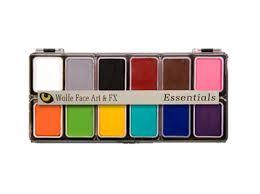 Hydrocolor <b>12 Color Palette</b> - WolfeFX
