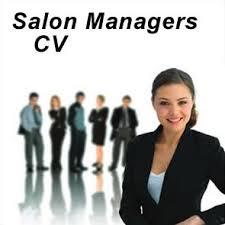 salon manager cvsalon manager cv and covering letter