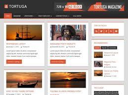 21 best responsive magazine wordpress themes 2017 tortuga wordpress magazine theme