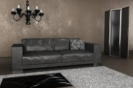 stylish studio apartement living room with l shaped gray leather sleeper also grey leather sofa brilliant brilliant grey sofa living room