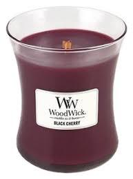 <b>Ароматическая свеча</b> Black <b>Cherry</b> WoodWick купить, цена на ...