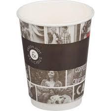 <b>Стакан одноразовый Huhtamaki Cafe</b> Noir бумажный черный 400 ...