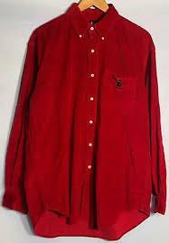 Ralph Lauren Блэр <b>рубашка</b> мужская L поло Медведь винтаж ...