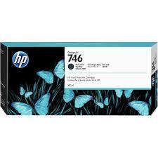 <b>HP 746</b> 300-ml Matte Black <b>DesignJet</b> Ink Cartridge (P2V83A)