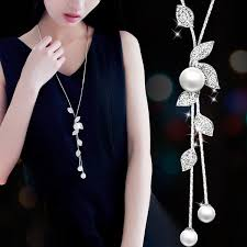 2019 Fashion Elegant <b>Simulated</b> Pearl Choker Necklaces For ...