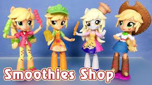 Обзор набора Smoothies Shop с <b>куклой</b> Эпплджек (<b>Equestria Girls</b> ...