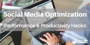 Social Media Optimization: Performance and Productivity Hacks for ...