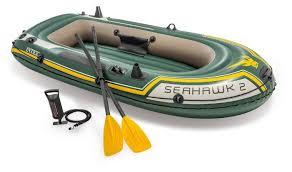 <b>Надувная лодка Intex</b> Seahawk-2 Set (68347) — купить по ...