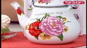 <b>Чайник эмалированный</b> Mayer Boch «Мини» - YouTube
