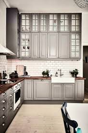in style kitchen cabinets: apartmentsgorgeous ideas about gray kitchen cabinets best dark for aefdffecdcad engaging stylish and cool gray kitchen