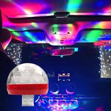 3pcs <b>USB LED</b> Car Interior Roof Atmosphere <b>Star Night</b> Light Lamp ...