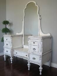 oval white mirrored table dresser with black desk vintage espresso wooden
