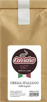 48 отзывов на <b>Кофе в зернах</b> Caffe <b>Carraro</b> Crema Italiano, 1 кг от ...