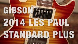 les paul standard plus top pro trans blue