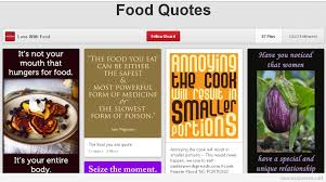 Nice and funny food quotes