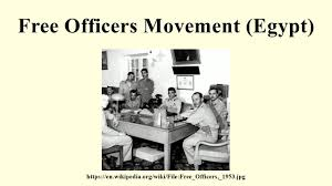 「free officers movement egypt」の画像検索結果