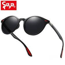 <b>SAYLAYO</b> Men Women <b>Classic Vintage</b> Rivet Polarized Sunglasses ...