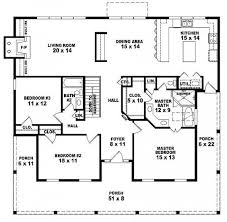 First story  Country style houses and Country style house plans on        One story bedroom  bath country style house plan   House