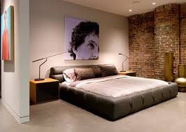 amazing brick stone wall masculine bedroom furniture cool wall elegant masculine bedroom bedroom furniture for men