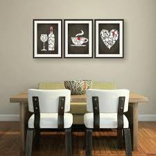 Wall Art Kitchen Decoration Set Of 3 Wine Types Coffee Types Kitchen Wordskitchen Decor