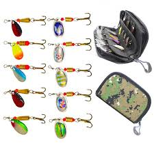 <b>10pcs</b>/<b>lot Fishing Spoon Lures</b> Spinner Bait 2.5 4g Fishing Wobbler ...