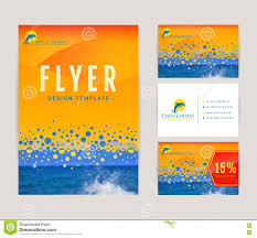 set of nautical and marine banners and flyers stock vector corporate identity set for travel company stock images