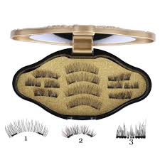 <b>1Set</b> Phoera <b>Magnetic Liquid</b> Eyeliner Gel False Fake <b>Eyelashes</b> ...