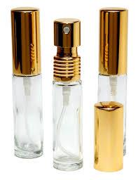 Riverrun <b>Set</b> of 3 Small Travel Perfume Atomizers <b>Empty Refillable</b> ...