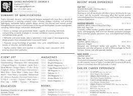 resume example  cv vs resume example cv template word  resume vs        resume example  danielstgeorge cv designer  page  cv vs resume example
