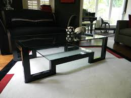black lacquer coffee table contemporary living room black laquer furniture