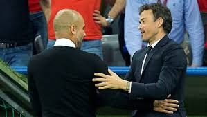 Barcelona   Luis Enrique and Guardiola: seven titles won in their first ...