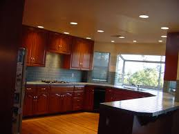 kitchen linear dazzling lights clear ceiling recessed: kitchen modern contemporary home kitchen design idea with island