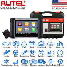 <b>Autel MaxiCOM MK808BT</b> Auto Diagnostic Tool <b>OBD2</b> Scanner Key ...