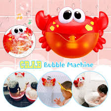 <b>Funny Music Crab Bubble</b> Blower Automatic Crab Bubble Maker ...