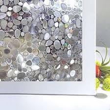 CottonColors Premium No-Glue 3D Static Decorative Privacy ...