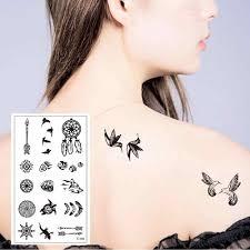 T 119 <b>Multi</b> clock small <b>pattern high quality</b> temporary tattoo sticker ...