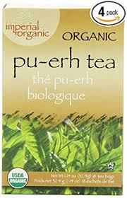 Uncle Lee's Imperial <b>Organic Tea</b> - <b>Pu-Erh</b>, 18-Count (Pack of 4)