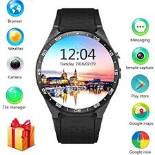 LEMFO KW88 3G Smart watch, Android 5.1 OS, Quad ... - Amazon.com