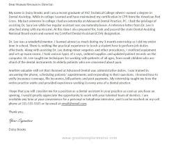 cover letter for cover cover letter examples dental assistant