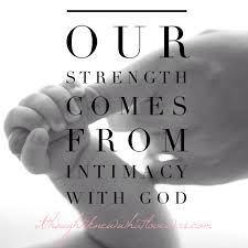 spiritual strength god love our greatest strength comes from abiding remaining in god