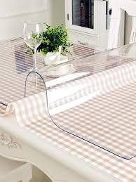 <b>Vivacase Скатерть на стол</b> ПВХ, прямоуг, гибкое стекло, тубус ...