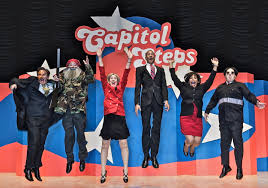 popular capitol steps brings political humor to occc the city oklahoma city community college occc and kgou radio present the popular political satire group