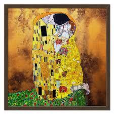 Холст 50×50 Поцелуй(Gustav Klimt) #2284641 от balden