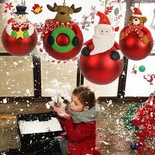 Christmas Ball <b>Cartoon</b> Colorful Balls <b>Christmas Tree</b> Decorations ...