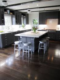 Wood Floor Kitchen Thin Celing Beams In Kitchen Cococozy Cococozy Exclusive