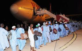 Image result for Nigeria hajj delegation at the airport